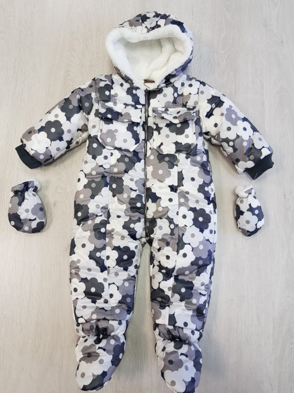 5cfa930f8 Zimná kombinéza s rukavičkami, univerzálna | Oblečenie pre bábätko